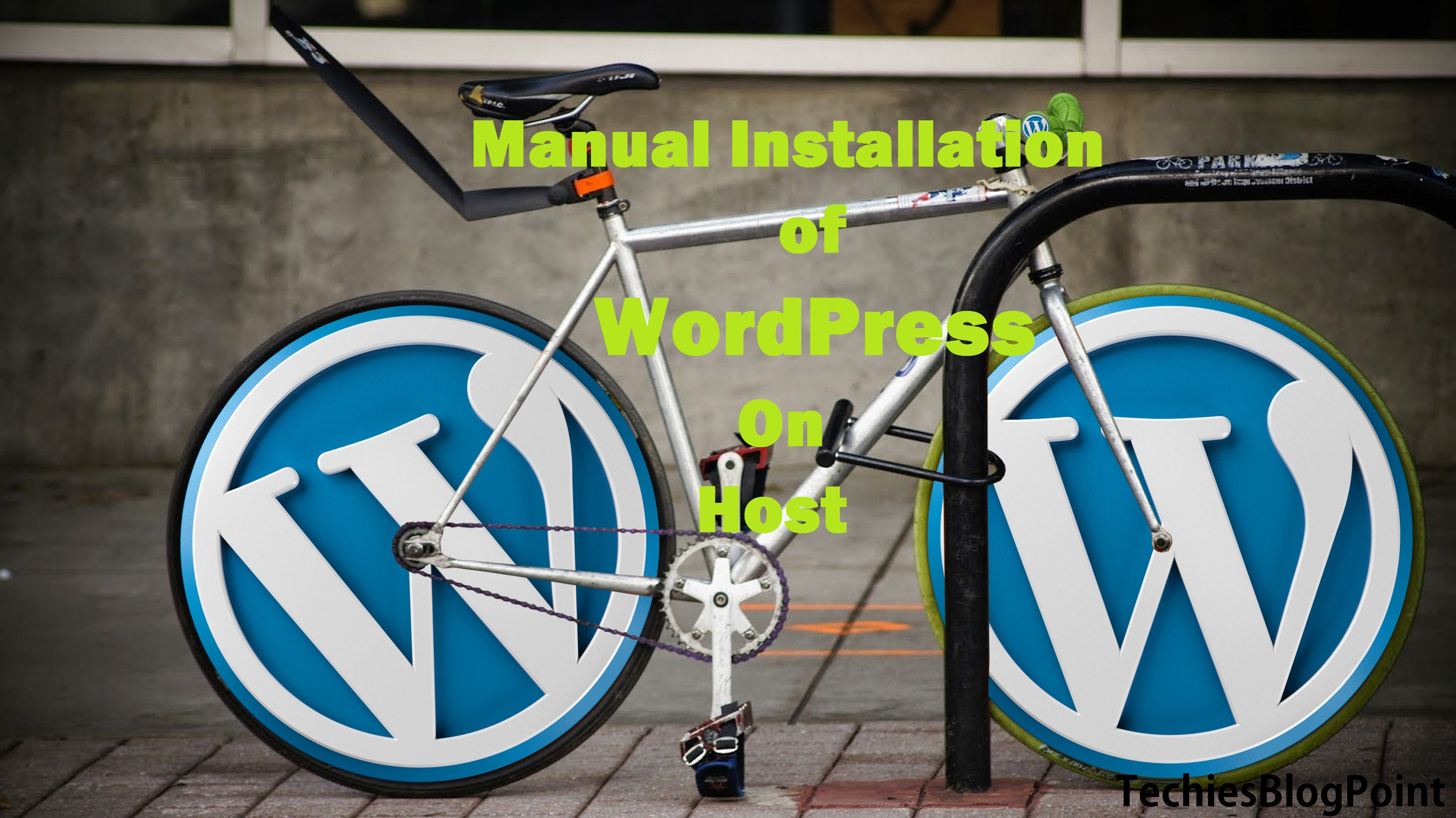 WP Manual Installation