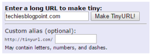 tiny URL for Short URL