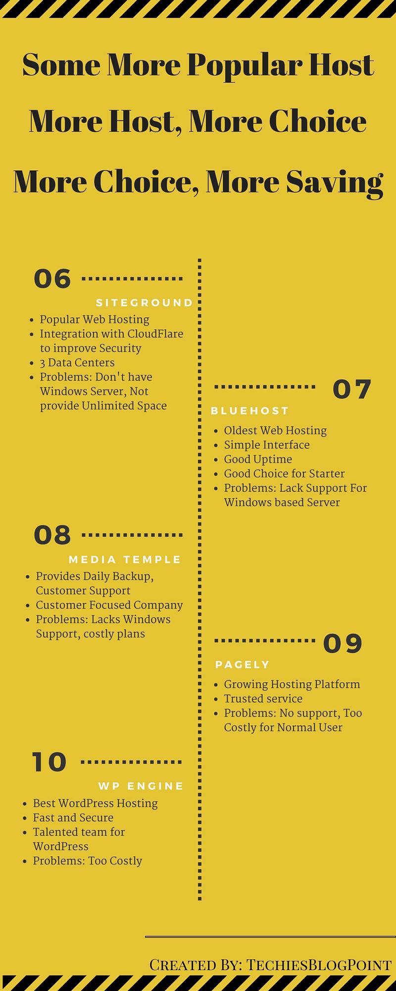 top 10 Hosting Companies