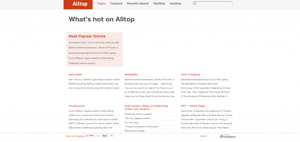 ALLTOP Screenshot