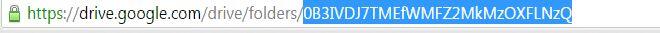 Copying Folder ID