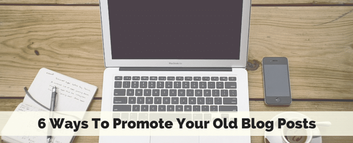 promote old blog posts