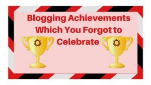blogging achievements