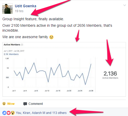FB Group Insights